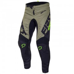 Pantalon Kaki/Fluo First Racing - Dreamaccess