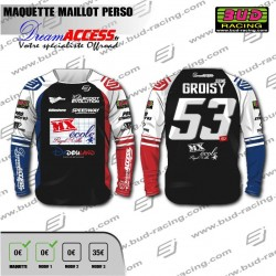Maillot Personnalisation MX...